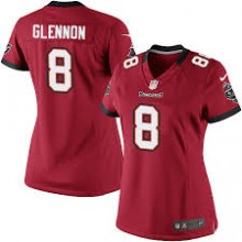 28151e913 Camisa Oficial Feminina NFL - Buccaneers  8 - Glennon - Vermelha ...
