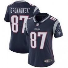 Camisa Replica Feminina NFL - Patriots  87 -Gronkowski - Navy ... 921a51c8932c8