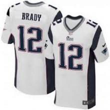 e90dafbf216a2 Camisa Replica NFL - Patriots  12 - Brady - Branca - Porto Futebol ...