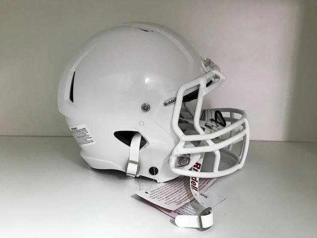 31358b5a6 Helmet Riddell Victor - (Youth) - Branco - Porto Futebol Americano