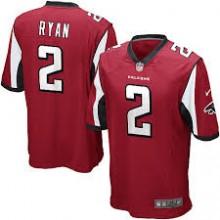 81099407c4168 Camisa Replica NFL - Falcons  2 - Ryan - Vermelha - Porto Futebol ...