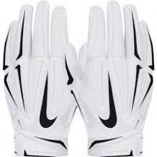 Luva Nike Superbad Skull 3.0 - Branca e Preta - Porto Futebol Americano f526422f88495