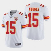 775f9e88e7 Camisa Replica NFL (Limited) - Chiefs  15 - Mahomes - Branca - Porto ...